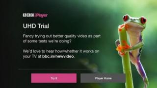 بي بي سي تريد من مصنعي التلفزيونات دعم تجربتها