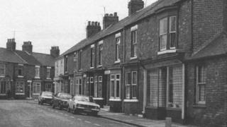Shop in Bow Street, Middlesbrough in 1981