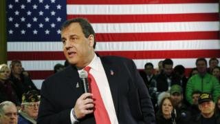 Chris Christie in New Hampshire