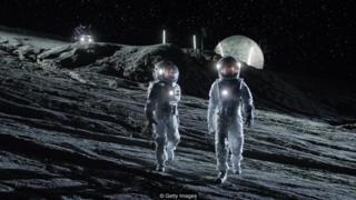 चंद्रावरील तळ भूपृष्ठाच्या आत असेल. अंतराळातील किरणोत्सर्गांपासून बचाव करण्यासाठी असा तळ आवश्यक असणार आहे.
