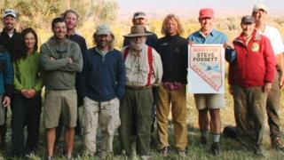 Voluntários que buscaram por Steve Fossett