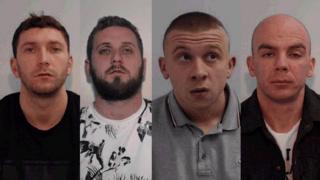 Nathan Green; David Murphy; Michael Rowlinson and David Bennett