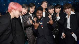 Khalid and BTS