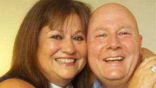 Gail and Ian Brown