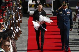 رئيسة الوزراء النيوزيلندية جاسيندا أردرن