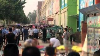 вибух біля дитячого садка