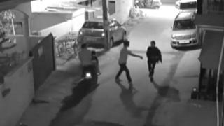 CCTV footage shows alleged sex assault in Bangalore on New Year's Eve