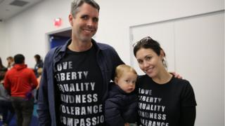 Elizabeth and David Truby with their son William