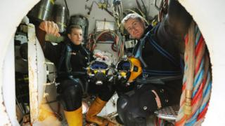 Divers training at The Underwater Centre