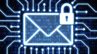 تصویر گرافیکی در مورد امنیت ایمیل