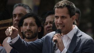 Guaidó asumió el pasada 5 de enero como nuevo presidente de la Asamblea Nacional venezolana.