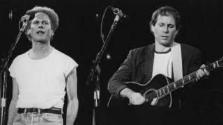 Art Garfunkel and Paul Simon