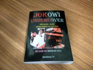 Buku Jokowi Undercover