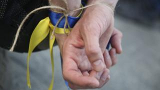 акция в поддержку Олега Сенцова в Кракове