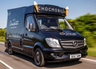Hotel Chocolat's missing Chocmobile
