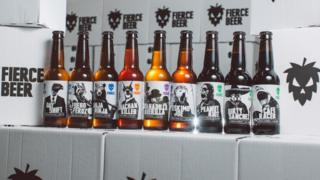 Fierce Beer products