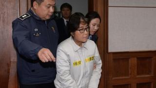 Чхве Сун Силь в суде 19 декабря