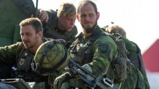سربازان سوئدی