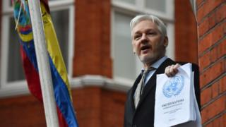 The focus will now be on whether Mr Assange can leave the Ecuadorean embassy in London