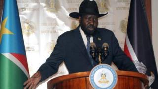 Prezida Salva Kiir wa Sudani Yepfo