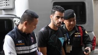 นายฮาคีม อัล อาไรบี ถูกทางการไทยจับกุมมาตั้งแต่วันที่ 27 พ.ย. 2561