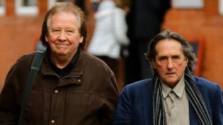 Richard Westwood, left, and Leonard Hawkes, right