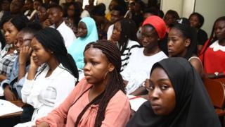 Mass Communication students for UNILAG
