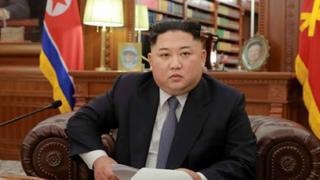 김정은 북한국무위원장은 1일 새해 정책 방향을 제시하는 신년사를 발표했다