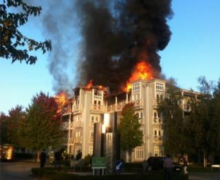 Fire in Snodland