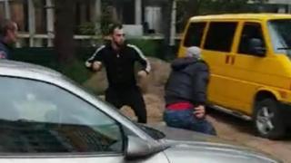 Фото нападників