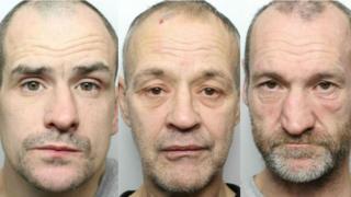 Andrew Jenkins (l), Stewart Malnieks (c), Stuart Jarvis (r)