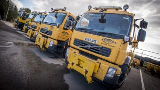 Cumbria County Council gritters