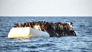 Un bateau de migrants (Image d'archives)