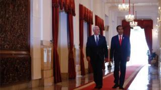 Mike Pence Jokowi