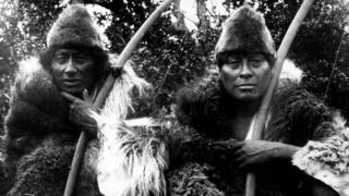 Коренные племена индейцев населяли Огненную Землю много тысячелетий