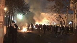 درگیری ۳۰ بهمن در محدوده خیابان پاسداران تهران