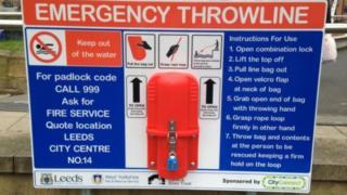 Emergency throwline