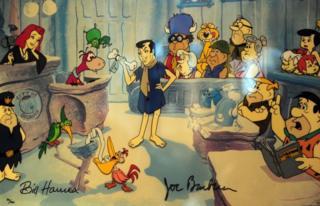 """The Flintstones"", la popular serie animada"