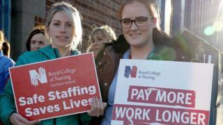 Health workers' strike: Nurses begin further 48 hours of action