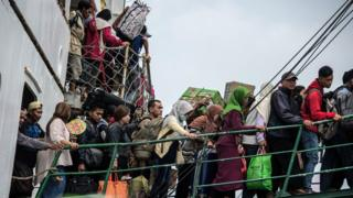 Индонезия. Сурабайя бандаргоҳи