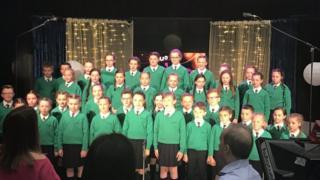 St Patrick's choir