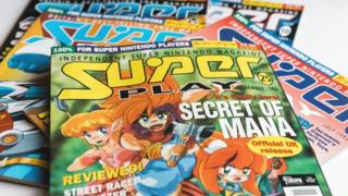 Secret of Mana on the cover of Super Play