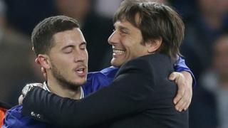 Antonio Conte ya ji dadin kokarin da Eden Hazard ya yi