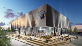 An artistic impression of the proposed aquarium