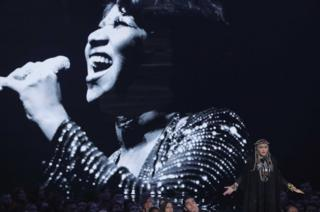 Madonna's Aretha Franklin tribute