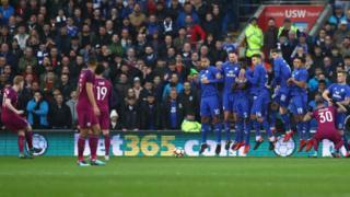 Caerdydd 0-2 Man City