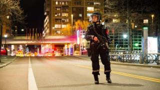 Полицейский в Норвегии
