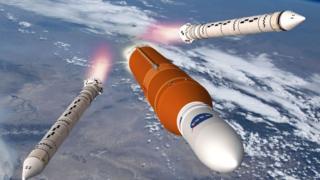 El SLS de la NASA desarrollado por Boeing.