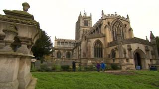 St. Mary's Church, in Melton Mowbray, Leicestershire