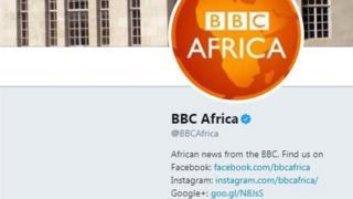 BBC Africa badge